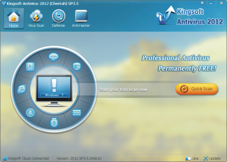 Kingsoft Antivirus 2012