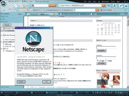 Netscape Browser / Netscape Navigator